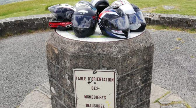 RETOUR SUR LA BALADE MOTO EN HAUTE CORRÈZE